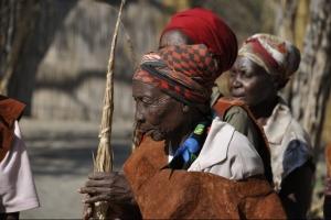 ontmoet de lokale bevolking van Tanzania