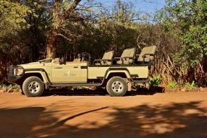 safari voertuig Afrika
