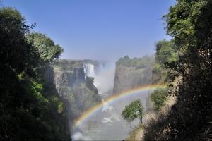 reizen in Afrika, Victoria watervallen