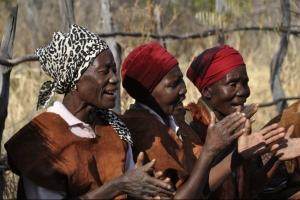 lokale bevolking Botswana