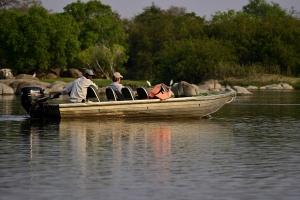 privé boot safari Kafue